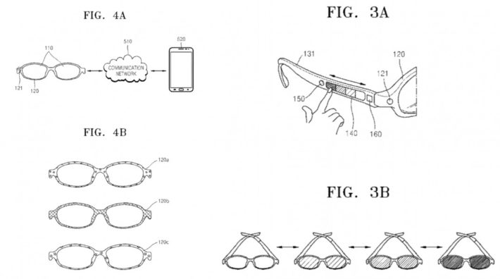 Samsung Patent Discovered Showing Smartphone-Controlled Color Lenses, But Not Smart Glasses