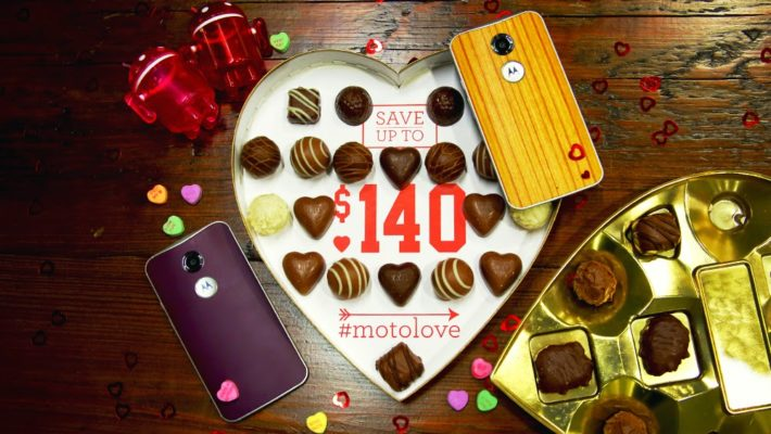 Motorola Spreading The Love With $140 Off $500 And $50 Off $250 Purchases For Valentines Day