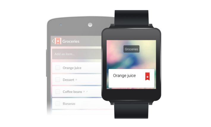 Wunderlist For Android Wear Updated To Include 'Make A Note' From Your Smartwatch Feature