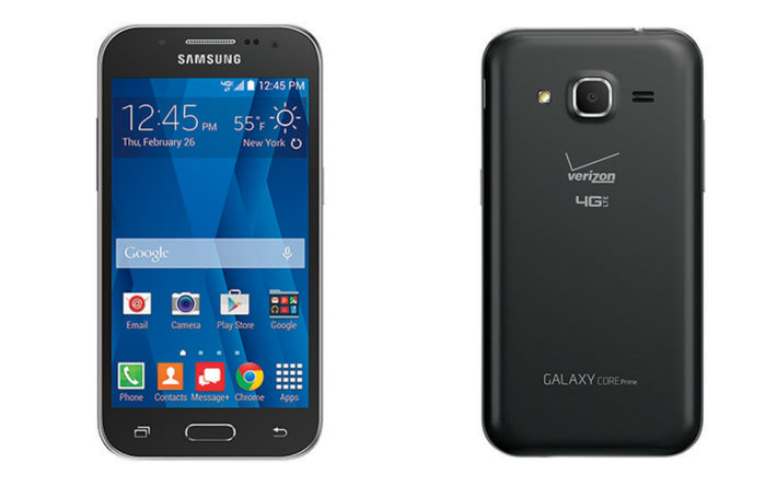 Verizon Announce The Samsung Galaxy Core Prime To Be Available From February 26