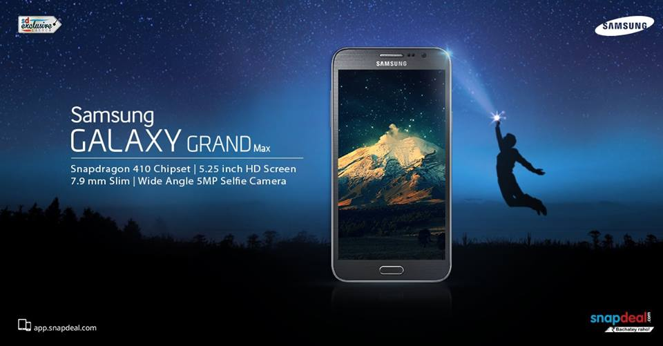 Galaxy Grand Max Snapdeal