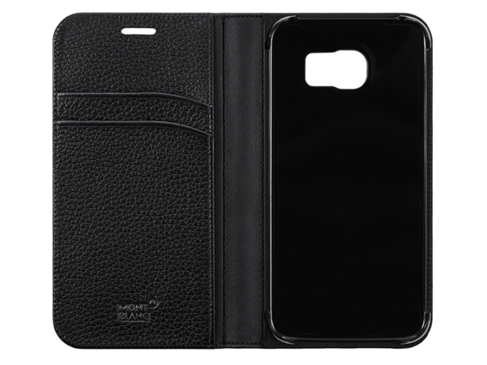 Montblanc Leaked Galaxy S6 And Galaxy S6 Edge Luxury Leather Covers