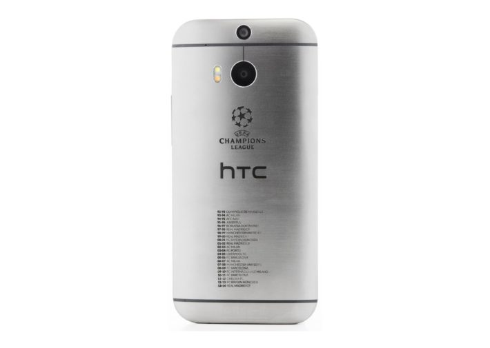 HTC Launch 'Champions' One M8 Detailing All Previous Winners Of UEFA Champions League