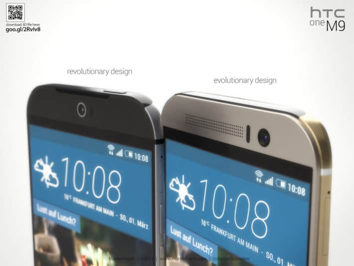 New HTC One Renders Showing Evolutionary And Revolutionary Designs