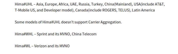 HTC One (M9) leaked country and carrier availability