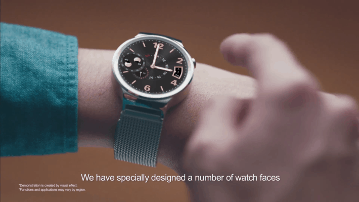Huawei Watch Features a Smaller Battery Than You Might Have Expected
