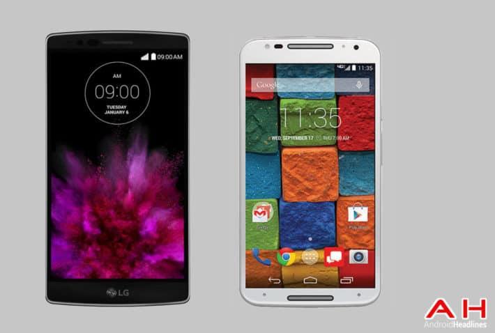 Phone Comparisons: LG G Flex 2 vs Motorola X 2014