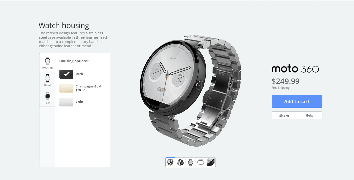 Motorola Adding the Moto 360 to MotoMaker in March