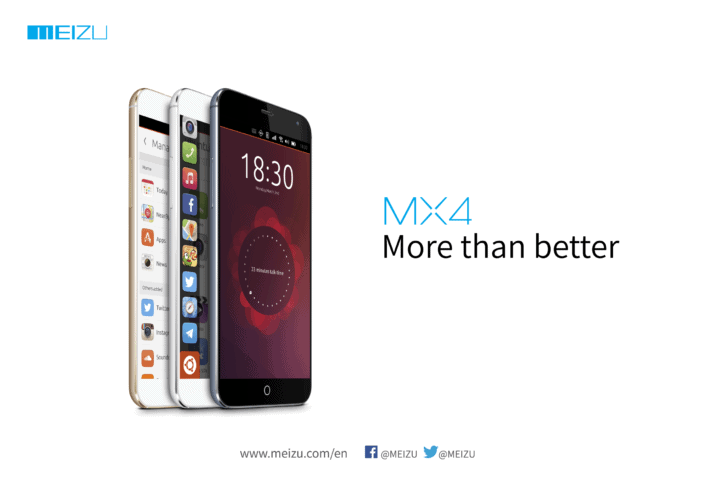 Meizu Confirms That The MX4 Will Run Ubuntu, To Be Showcased At MWC