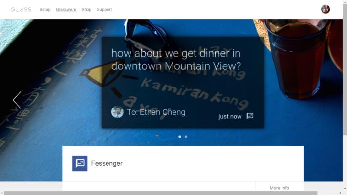 Facebook Messenger Comes To Google Glass As 'Fessenger' App