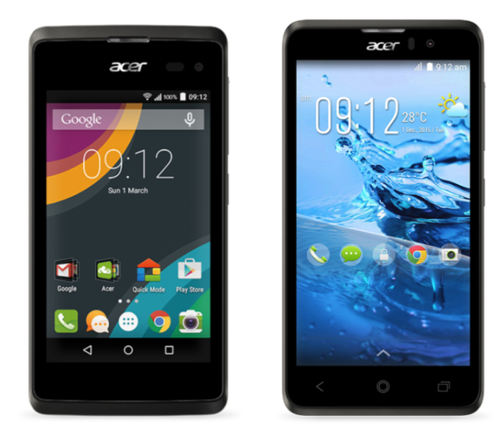 Acer Announce The Release Of The Acer Z220 And Acer Z520 Smartphones