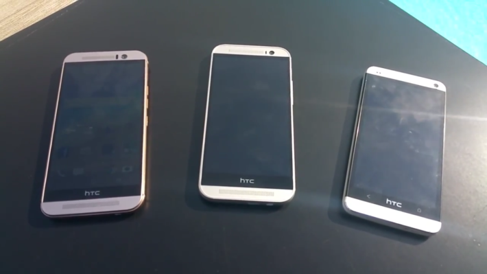 New Video Emerges Showing Hands-On With HTC One M9 And Comparing To One M8 And M7
