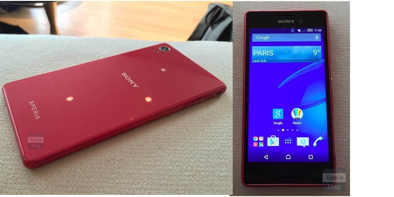 [image]Xperia M4 Aqua Rumored to Be Unveiled At MWC