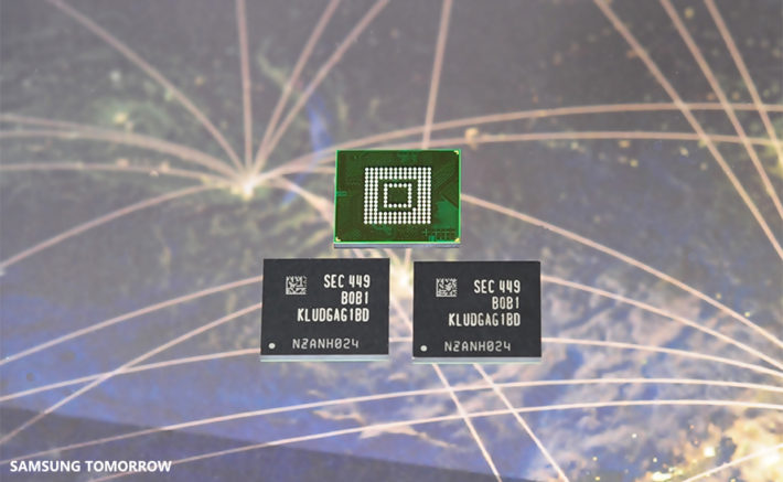 Samsung Showcase High Performance 128 GB NAND Chip Likely Destined For the Galaxy S6