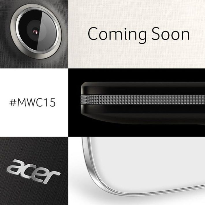 Acer Teases Smartphones And A Wearable For MWC