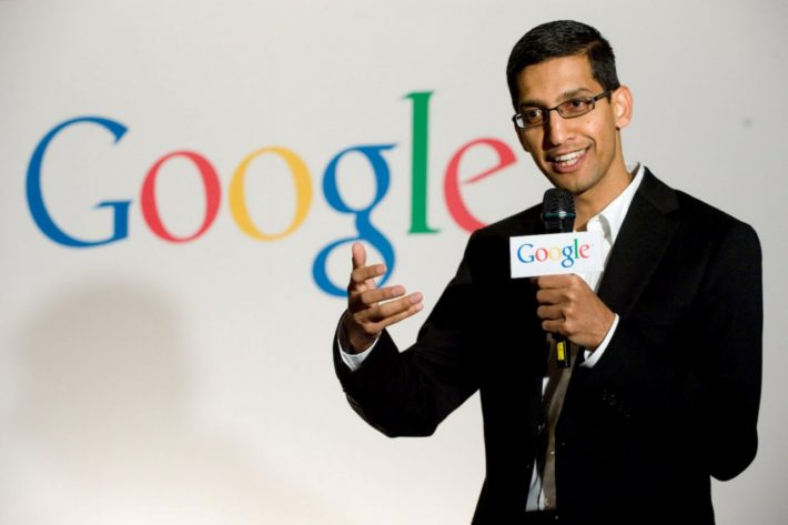 "Google's Pichai Claims Apple's Price Point Is ""Irresponsible"""