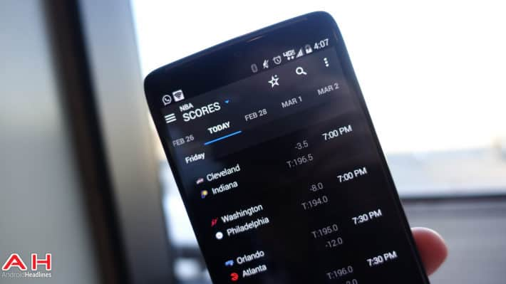 theScore Updates with Material Design Today