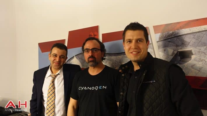 We Catch Up With Cyanogen At MWC and Talk Branding, OnePlus, Micromax and Alcatel Hero 2+
