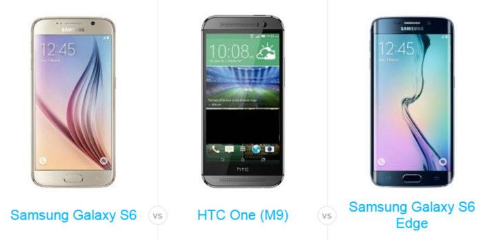 Benchmark Scores: Samsung Galaxy S6/S6 Edge blows HTC One M9 Away