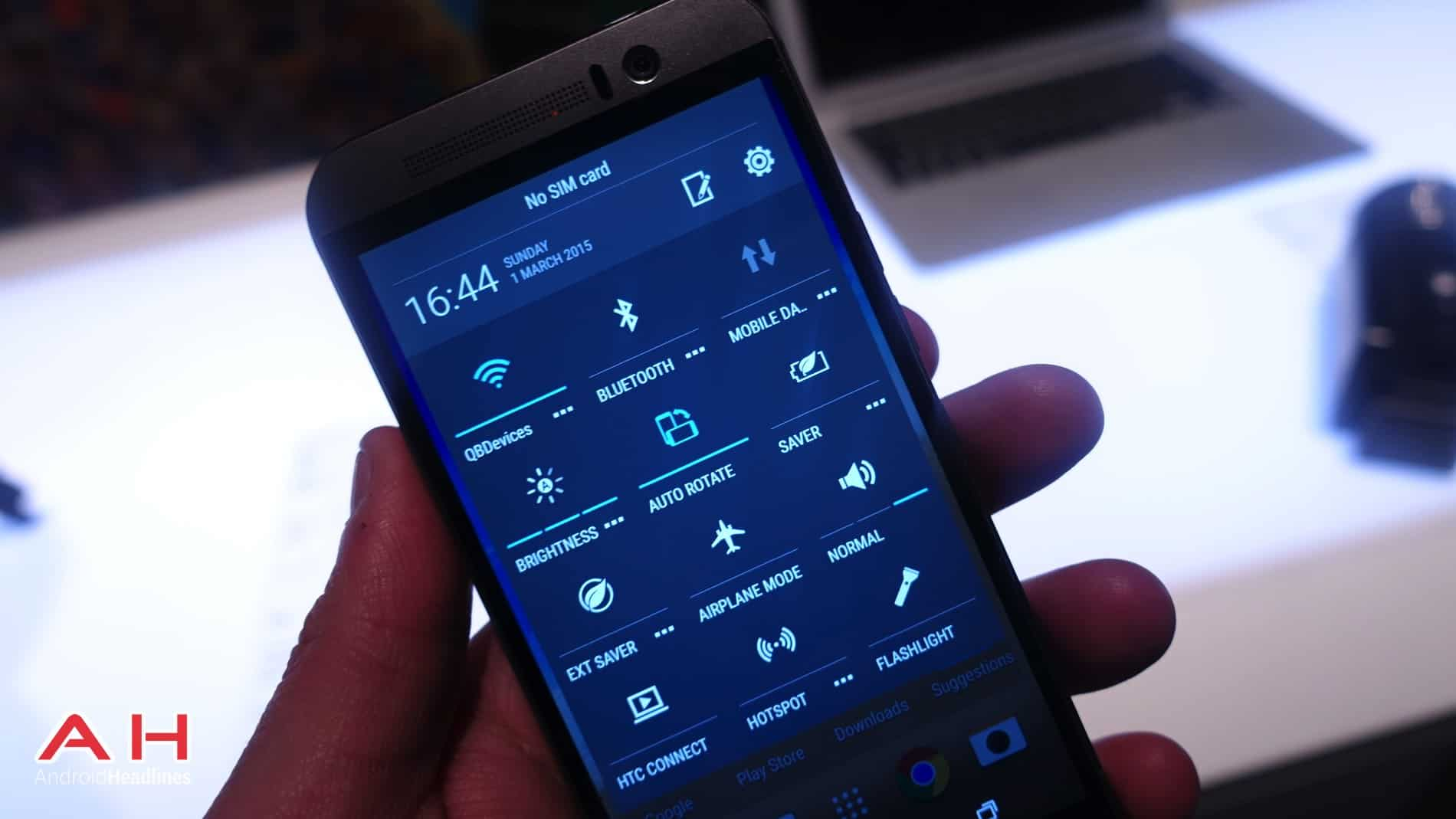 HTC One M9 Hands On AH 20