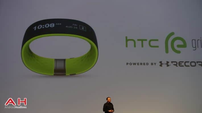 HTC Introduce Their First Fitness Tracker in Partnership With Under Armour; the HTC Grip