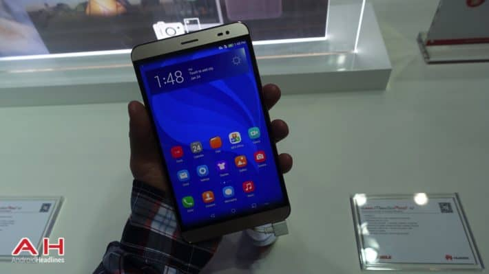 Hands-On With Huawei's MediaPad X2 at MWC '15