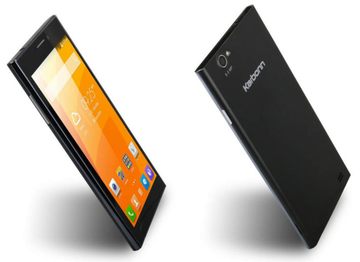 Karbonn Platinum P9 Is A New 6″ Phablet For The Indian Market; Two 8MP Cameras In Tow