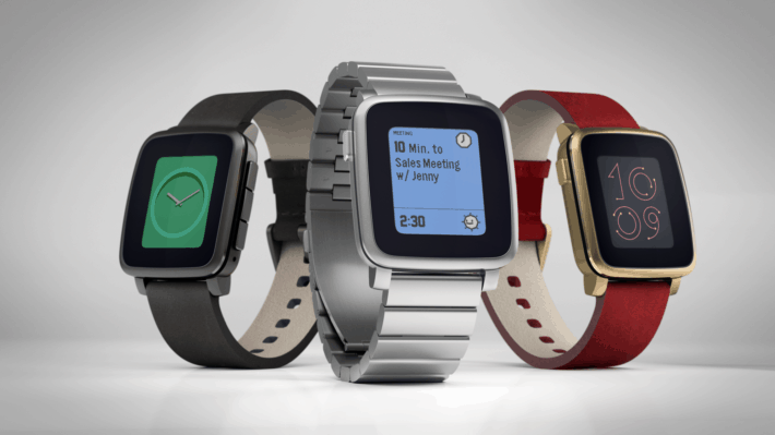 Pebble Updates Kickstarter with Pebble Time Steel for $250
