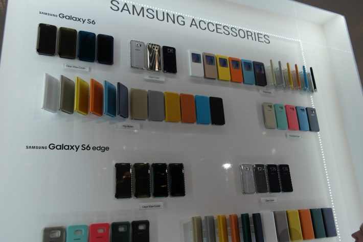 These Are Samsung Galaxy S6 Accessories Showcased At MWC