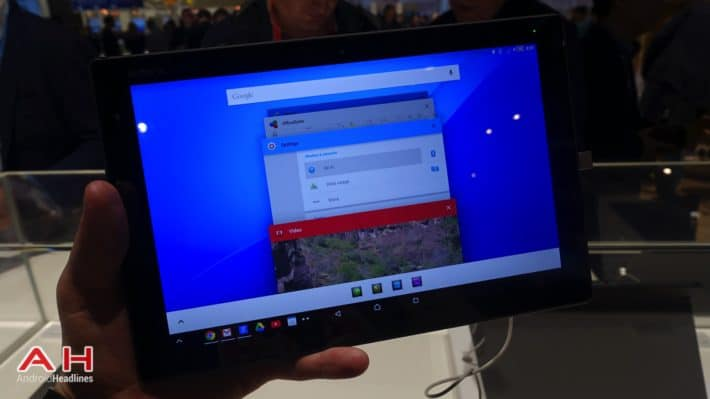 Hands-On With Sony's Lollipop on the Xperia Z4 Tablet and Xperia Z3
