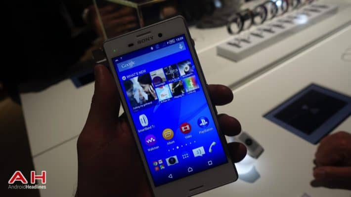 Sony's Xperia M4 Aqua Shows Up On Amazon Germany For Pre-Orders At €279